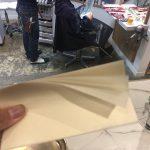 カラーした後に貼る、謎の紙の真相。