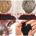 スロウから新しく発売される【アッシュシャンプー】をブリーチで退色した髪に使って見た